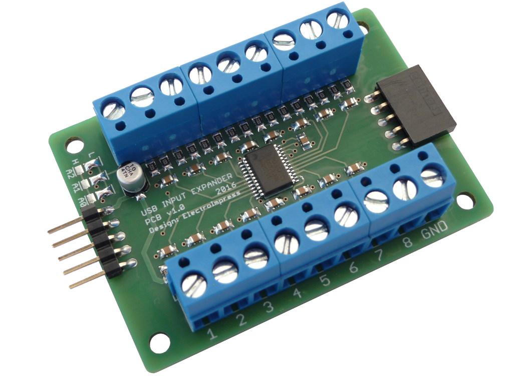 Kiegészítő billentyűzet emulátor modul