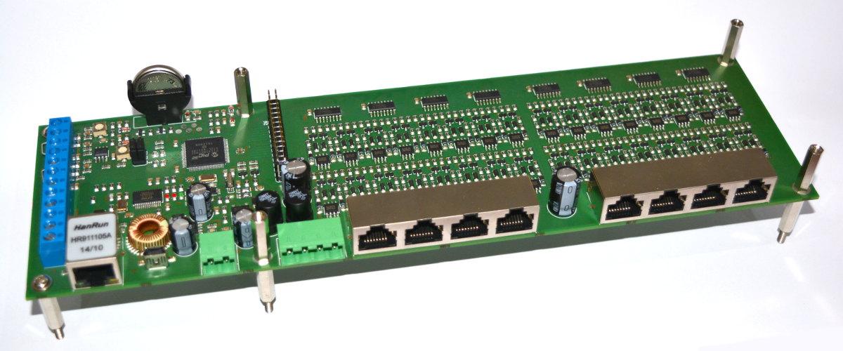 Ethernet szerver modul