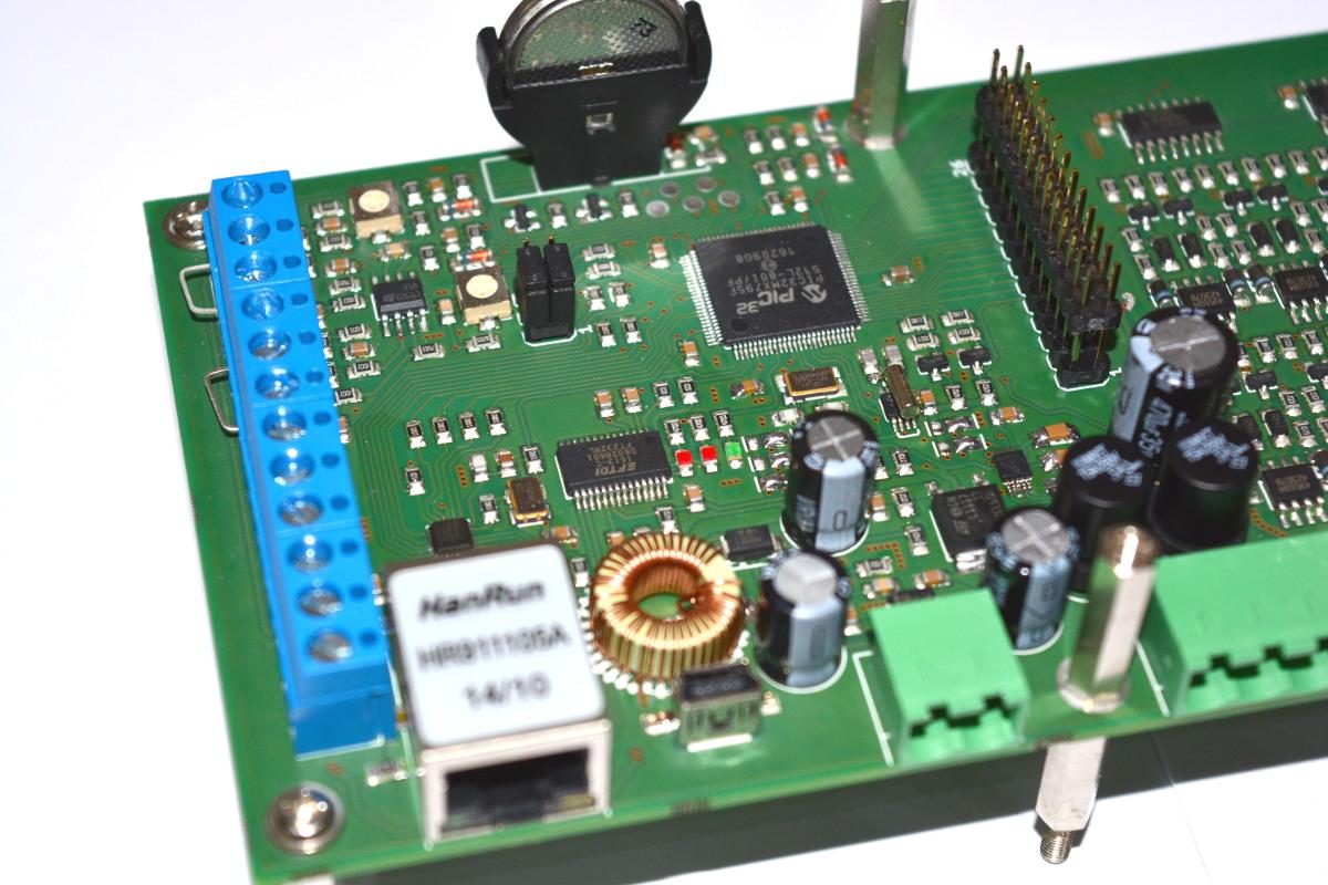 Ethernet szerver rendszer