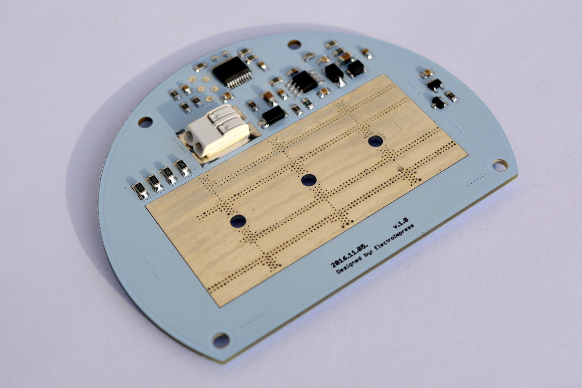 LED modul alulnézet=